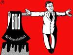 Karikatur: Rainer Hachfeld