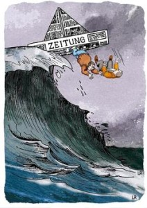 Karikatur: Reinhold Löffler