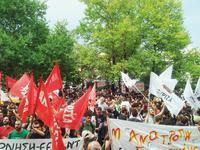 Proteste in Athen Foto: Eva Völpel