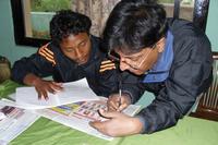 Training of Trainers bei Radio Palung in Nepal Foto: IIJB