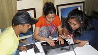 Abschluss Feature Produktion in Kathmandu Foto: IIJB