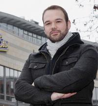 Christian Hein: Aktiv im Streik für einen bundesweiten Tarifvertrag - Solidarität für künftige Kinoarbeiter Foto: Sascha Kopp