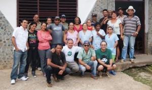 Mitarbeiter bei TV Serrana Foto: Foto: Ute Evers