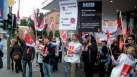 Für bessere Arbeitsbedingungen in Mainz Foto: Ferhat Altan