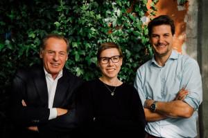 Dieter Degler, Anke Rippert, Thorsten Höge von Pocketstory (v.l.n.r.) Foto: Dirk Moeller