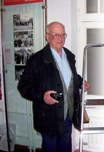 """""""Jürgen Henschel – der Fotograf der Wahrheit"""" 2006 im Kreuzberg Museum in Berlin Foto: Manfred Rey"""