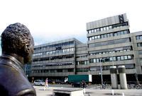 Das Pressehaus Nürnberg unter den wachsamen Augen von Willy Brandtz Foto: Frank Zeisig