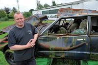 Sönke Korries, Stuntman foto: Mathias thurm