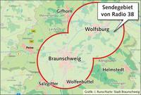 Grafik: J.Runo, Karte: Stadt Braunschweig