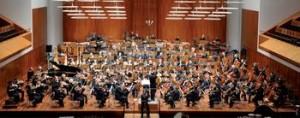 Das Sinfonieorchesters des Südwestrundfunks bei einer Probe in Freiburg Foto: Patrick Seeger / dpa