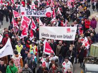 Demo beim NDR Foto: Bernd Kittendorf