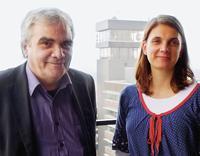 Kuno Haberbusch und Katrin Becker Foto: Wulf Beleites