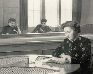 Moderatorin 1953 Foto: Archiv rbb-Studio Cottbus