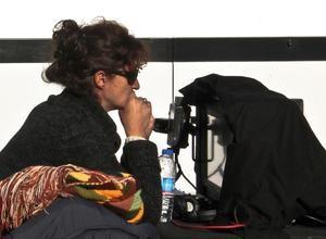 """Filmemacherin Pelin Esmer während Filmaufnahmen zu """"Watchtower"""". Foto: watchtowerfilm. com/#press"""