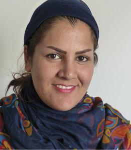 Rundfunkjournalistin Sharmila Hashimi, die vor zwei Jahren aus Afghanistan nach Deutschland kam Foto: ROG