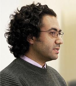 Monis Bukhari, Journalist und Blogger aus Syrien Foto: NDM / Mosjkan Ehrari