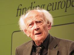 Soziologe und Philosoph Zygmunt Bauman Foto: Uwe Sievers