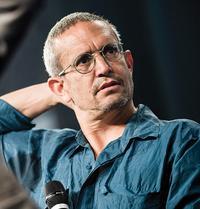 re:publica 2014 – Tag 1, Stage 1, The Yes Men: Andy Bichlbaum und Mike Bonanno (unten) Foto: republica / Gregor Fischer