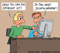 Karikatur: Roger Schmidt