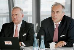 Peter Löw und Martin Vorderwülbecke Foto: Stephanie Pilick dpa
