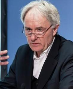"""Volker Lilienthal, Inhaber der Rudolf-Augstein-Stiftungsprofessur für """"Praxis des Qualitätsjournalismus"""" in Hamburg Foto: David Marschalsky / FOX / LfM"""