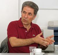 António Louçã, Betriebsrat des staatlichen Radio- und Fernsehsenders Rádio e Televisão de Portugal (RTB) Foto: Bärbel Rechenbach