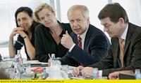 WDR Köln am 1. Juli 2014: Die Intendanz stellt den Beschäftigten die neuen Sparpläne vor. Foto: WDR / Herby Sachs