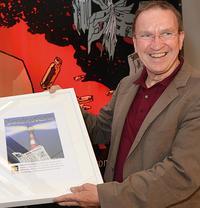 Ulrich Chaussy ausgezeichnet für besondere publizistische Leistungen  Foto: Wulf Rohwedder