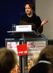 Brigitte Baetz, Medienjournalistin, Deutschlandfunk Foto