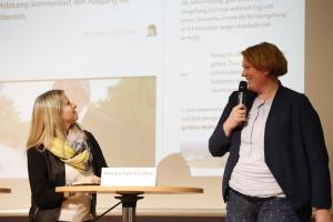 Neue Westfälische im Umbruch: Miriam Scharlibbe und Annika Falk-Claußen Foto: Jan-Timo Schaube