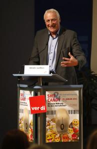 Ulrich Janßen, dju-Vorsitzender Foto: Jan-Timo Schaube