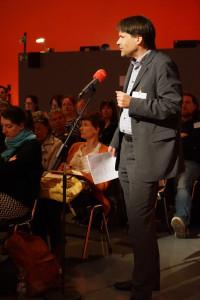 Christoph Reinhardt, Mitorgansiator des ARD-Freienkongresses und Freier im RBB