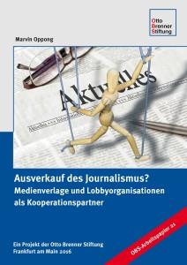 """Arbeitspapier der Otto Brenner Stiftung """"Ausverkauf des Journalismus?"""""""