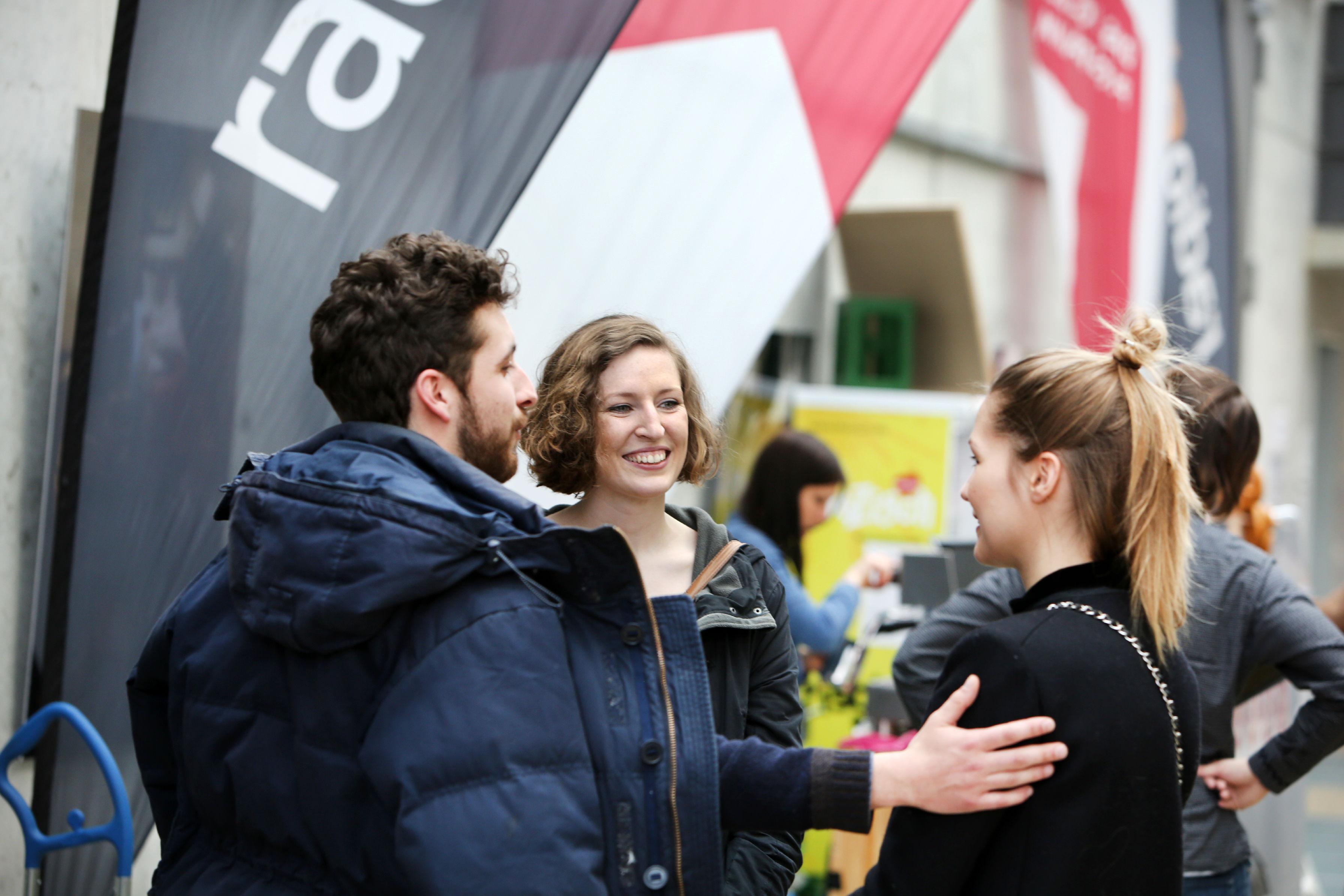 Networking auf dem Sehsüchte FilmfestivalFoto: Christian von Polentz