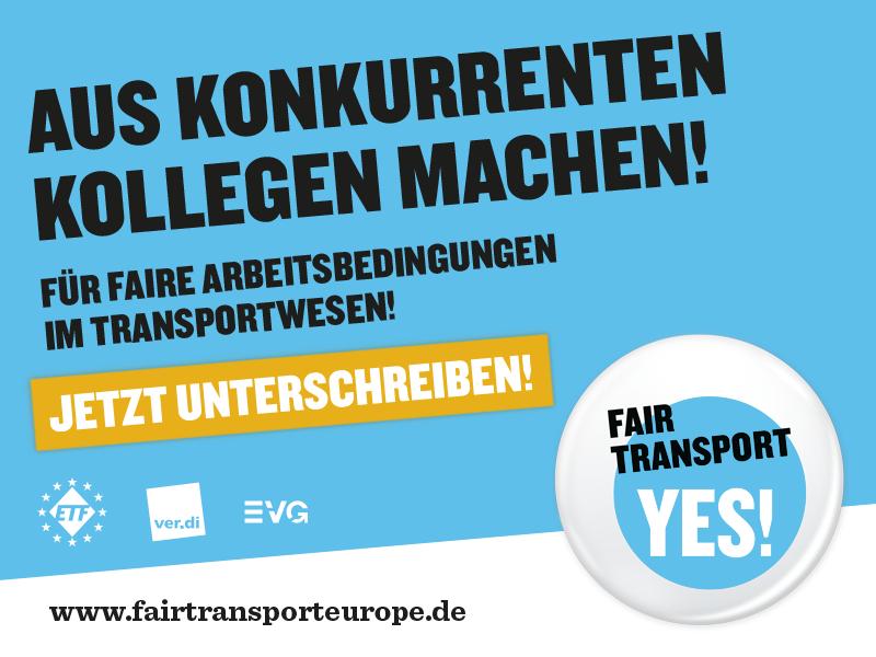 Anzeige fairtransporteurope.de