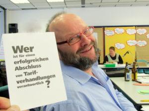 """Klaus Schrage, Betriebsratsvorsitzender bei den """"Nürnberger Nachrichten""""Foto: Bernd Mann"""