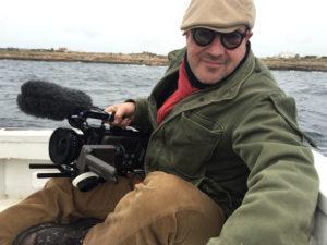 """Gianfranco Rosi drehte den Film """"Seefeuer"""". Der auf der 66. Berlinale (2016) als bester Film ausgezeichnete Dokumentarfilm widmet sich der italienischen Insel Lampedusa. Foto: 21 Uno Film"""