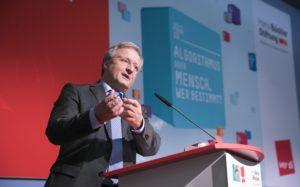 Michael Guggemos von der Hans-Böckler-Stiftung Foto: Kay Herschelmann