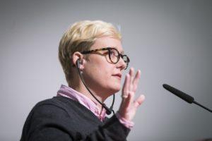 Sarah T. Roberts von der University of California in Los Angeles Foto: Kay Herschelmann