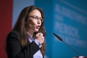 Yasmin Fahimi, Staatssekretärin im Bundesministerium für Arbeit und Soziales Foto: Kay Herschelmann