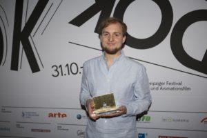 Ausgezeichnet mit dem ver.di-Preis: Jakob Schmidt Foto: Maiju Saari