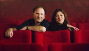 """""""Scala""""-Befürworter: """"Bodensee-Kommissarin"""" Eva Mattes (r.) und Filmemacher Douglas Wolfsperger Foto: Katrin Zeidler"""