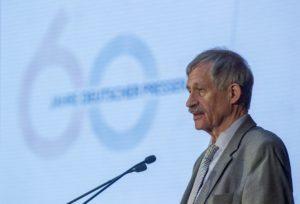 Manfred Protze, Sprecher des Deutschen Presserats Foto: Thilo Schmülgen
