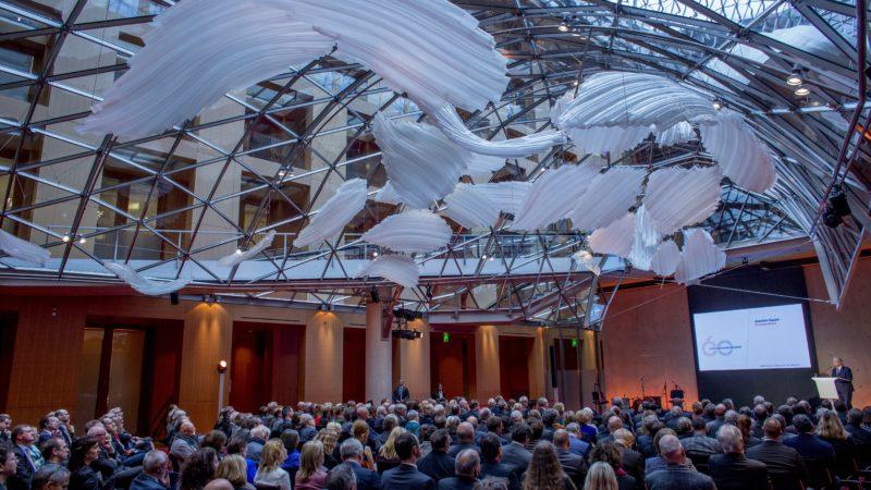 60 Jahre Deutscher Presserat - Festakt am 1. Dezember 2016 im AXICA Kongress- und Tagungszentrum Berlin Foto: Thilo Schmülgen