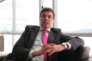 Diego Fernando Mora. Direktor der Unidad nacional de Protección (UNP), die für den Schutz von Menschenrechtsaktivisten, Journalisten, Gewerkschaftern und Politikern verantwortlich ist. Foto: Knut Henkel