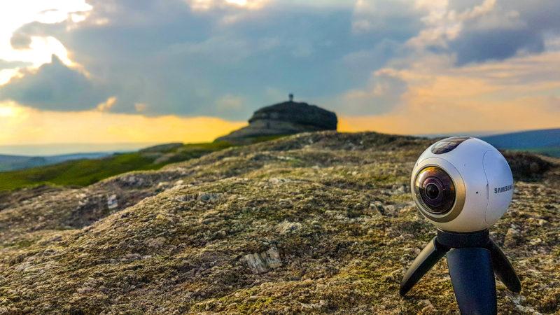 Blick auf den Haytor-Felsen im Dartmoor/EnglandFoto: Kai Rüsberg