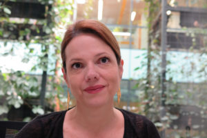 "Ana Cristina Restrepo arbeitet für ""Bluradio"" in Kolumbien Foto: Knut Henkel"