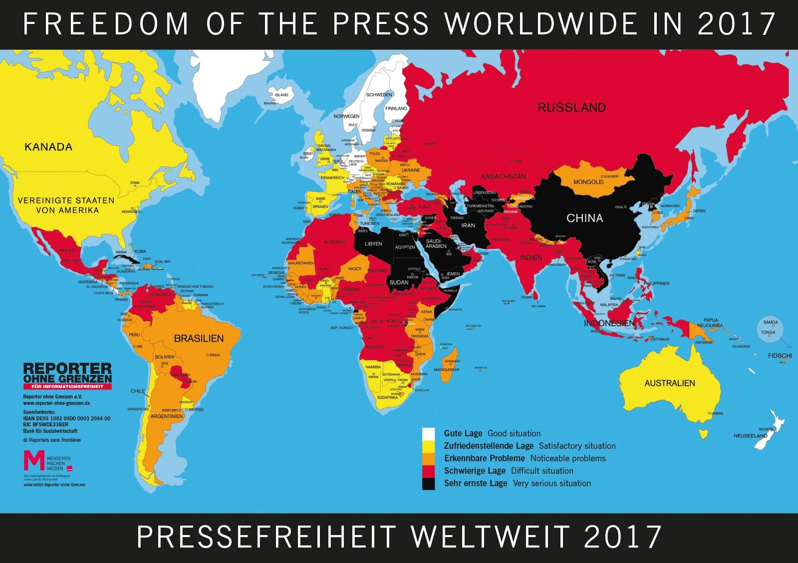 Liste Gesperrte Seiten Deutschland