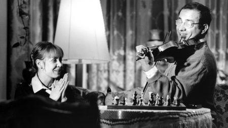 """Jutta Hoffmann und Armin Mueller-Stahl in """"Der Dritte"""" (1972) Foto: Ingo Raatzke, Heinz Wenzel"""